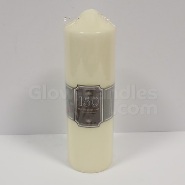 Church Pillar Candle 150hr 24cm (CD5270)
