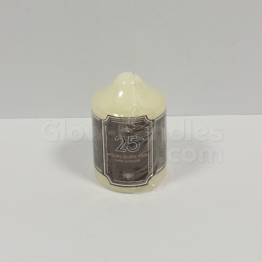 Church Pillar Candle 25hr 8cm (CD5265A)