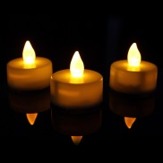 Flickering Tealight Candles (3 Pack)