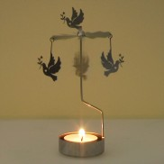 Dove Rotary Tealight Holder