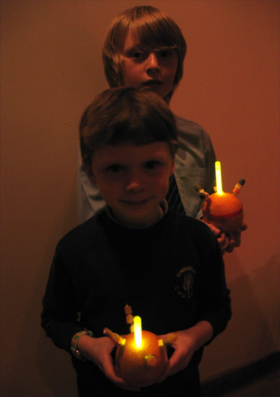 Christingle Glow Candles